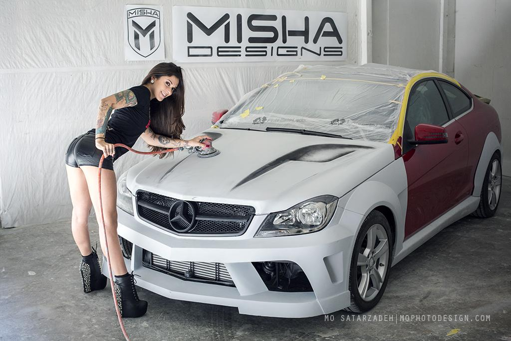 Misha designs new mercedes c class wide body kit page 3 mbworld org forums
