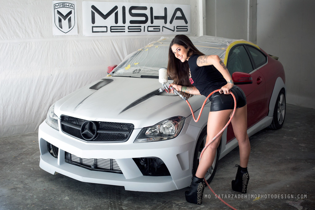 Misha Designs New Mercedes C Class Wide Body Kit Page