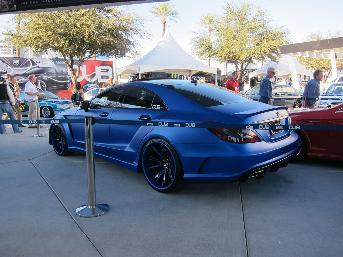 Misha Designs Mercedes Cls M Extreme Widebody Sema