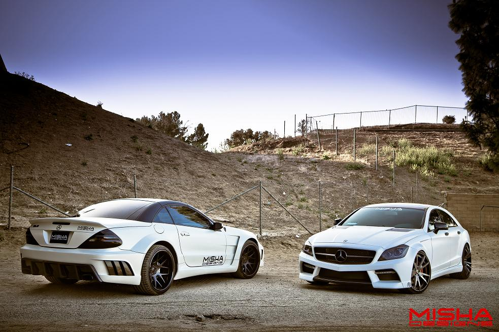Misha Designs Video And Photos Of Sl M Widebody Amp Cls M Body Kit Mbworld Org Forums