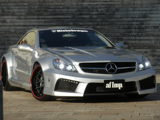 Misha Designs Our Signature Kitted Mercedes Widebody Slm From Grand Prix In Japan Mbworld