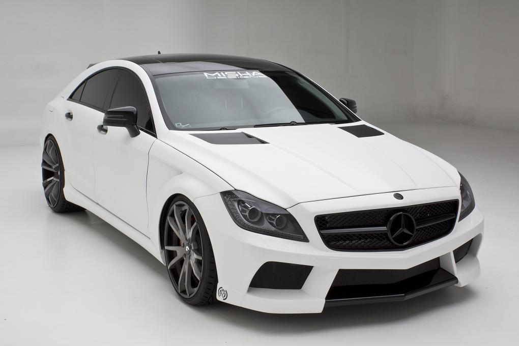Misha Designs Mercedes Cls Body Kit Studio Photo Shoot